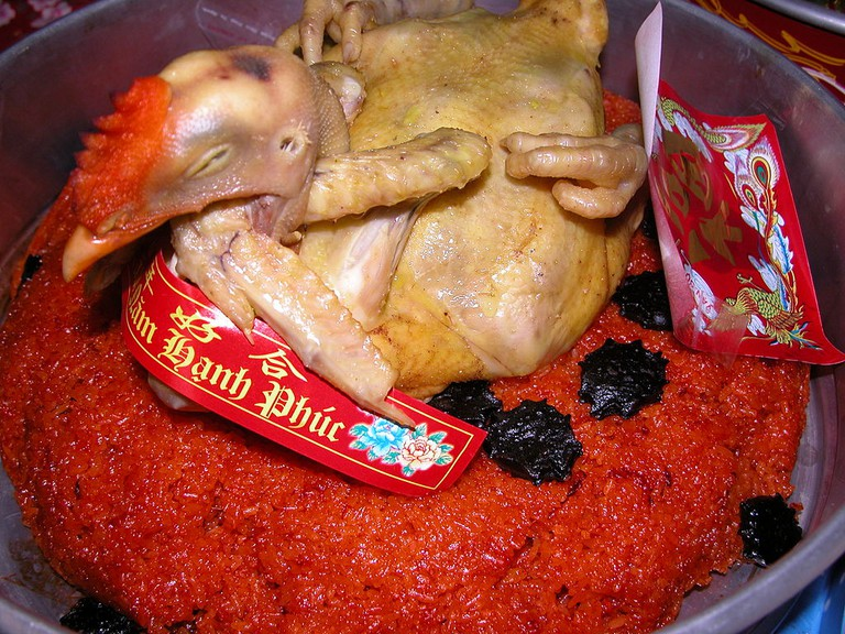 Boiled chicken for a wedding party   Nguyễn Thanh Quang / Wikimedia Commons