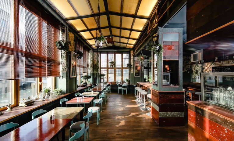 A beautiful, inviting atmosphere in the heart of Berlin
