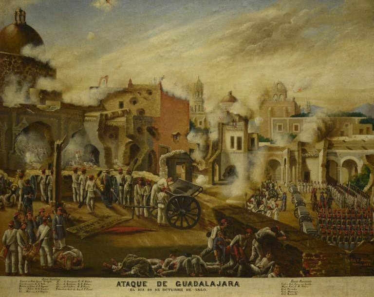 Guadalajara, 1860