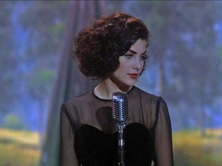 Audrey Horne (Sherilyn Fenn) back in the day | © ABC