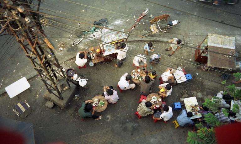Saigon Street Corner Dining
