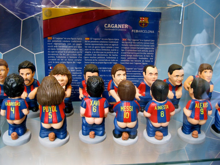 The caganer come in all shapes and sizes © Athena Lao