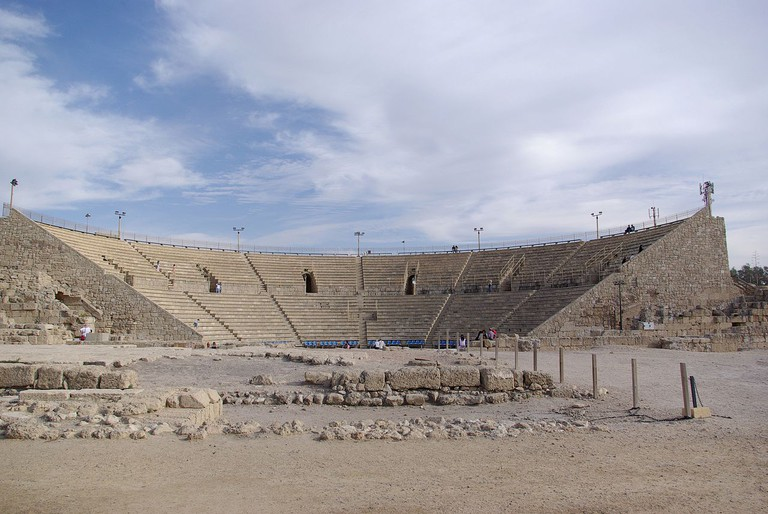 The Roman theatre at Caesarea Maritima in Israel | Berthold Werner / Wikimedia Commons