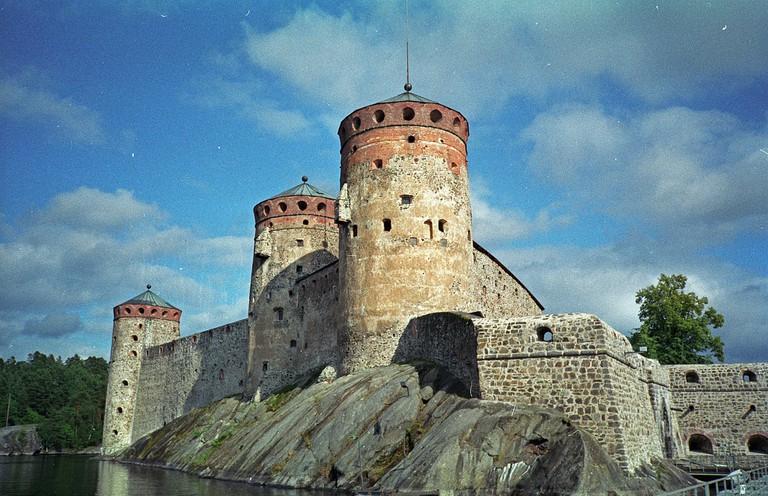 The keep of Olavinlinna Castle/ Wikicommons