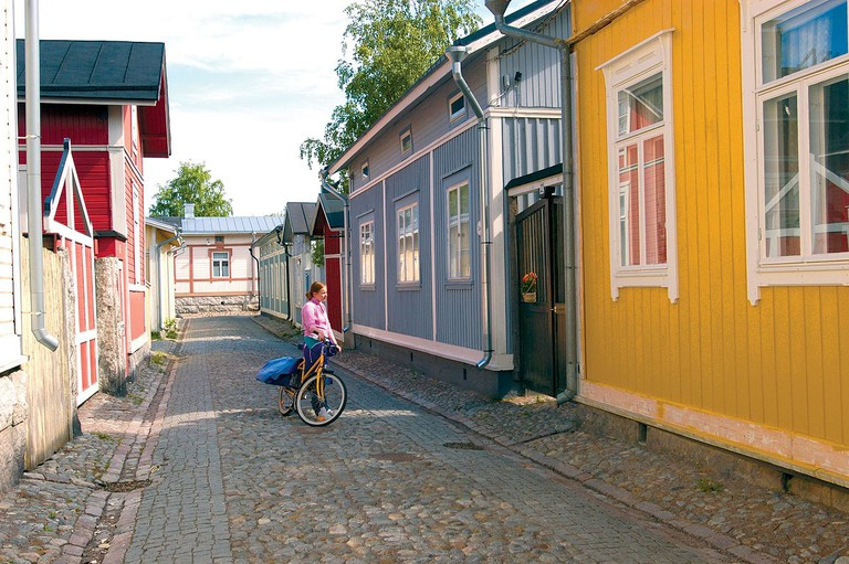 Buildings at Rauma Old Town/ Wikicommons