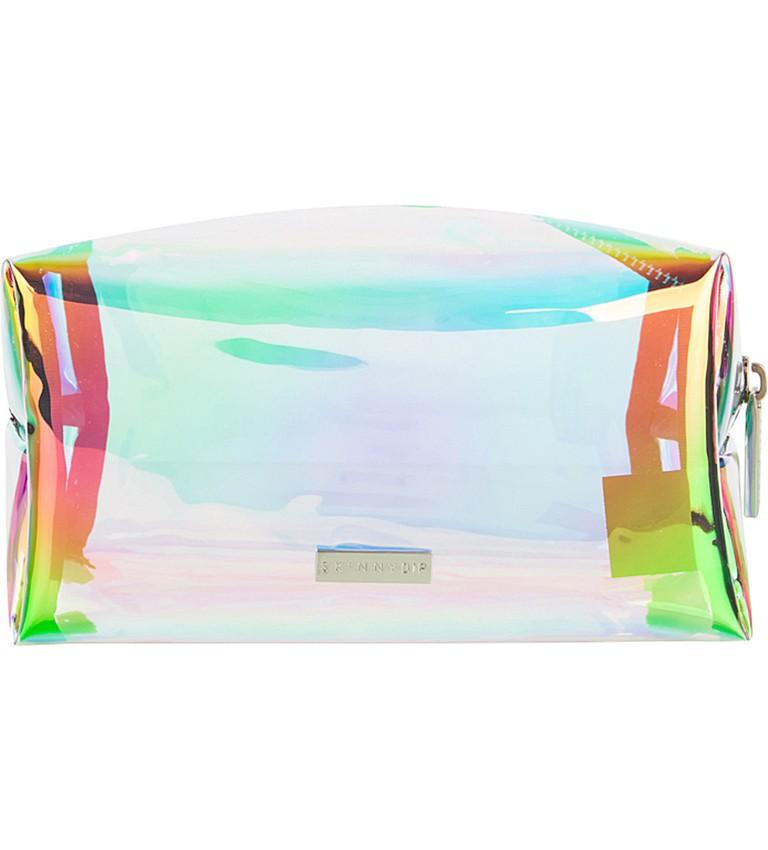 Skinnydip, Dazzle holographic make-up bag, £14