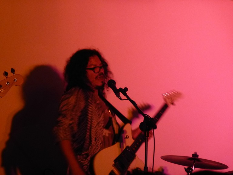 Raimundo Amador performing in 2014 I