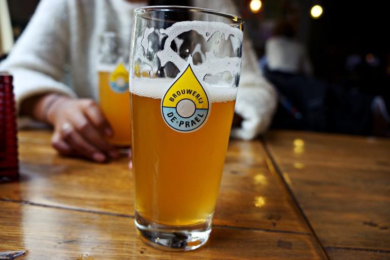 A beer from Brouwerij de Prael