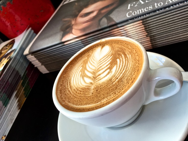 Flat White Coffee From A Melbourne Cafe