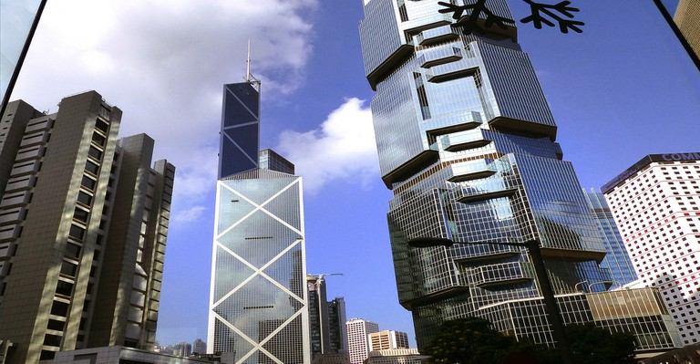 Bank of China Tower and the Lippo Centre