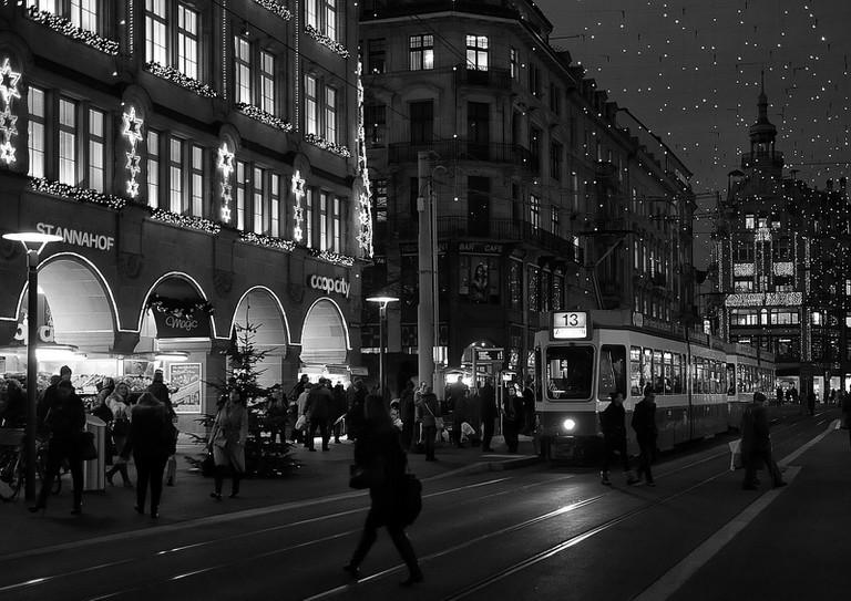 The Bahnhofstrasse