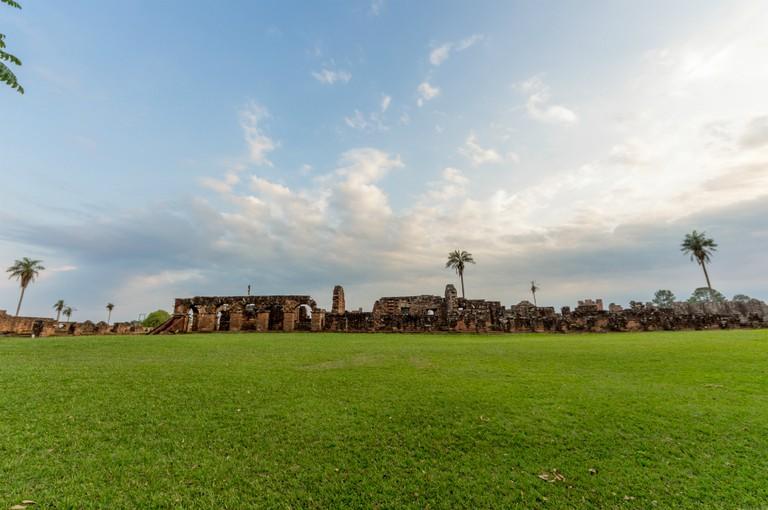 The ruins at Trinidad