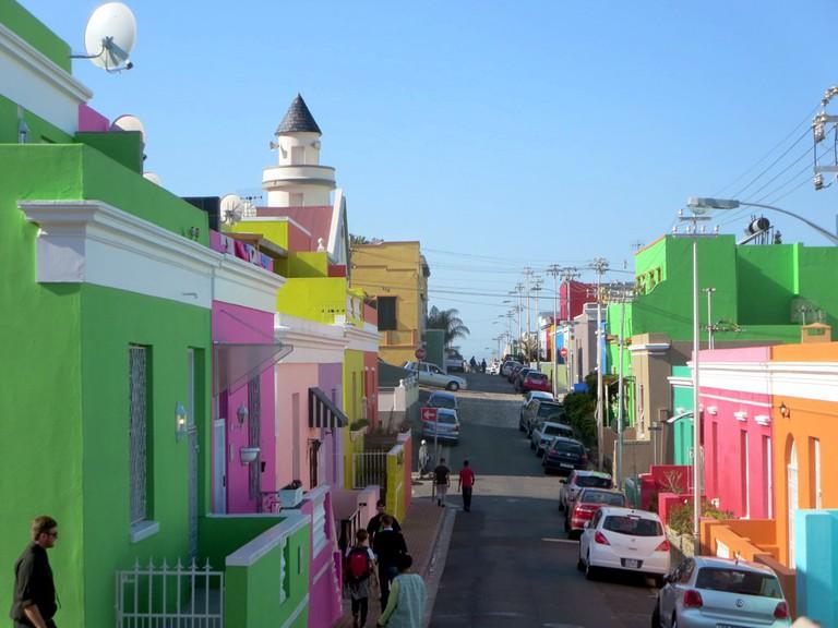 Bo-Kaap is home to Muslim Cape Malay people