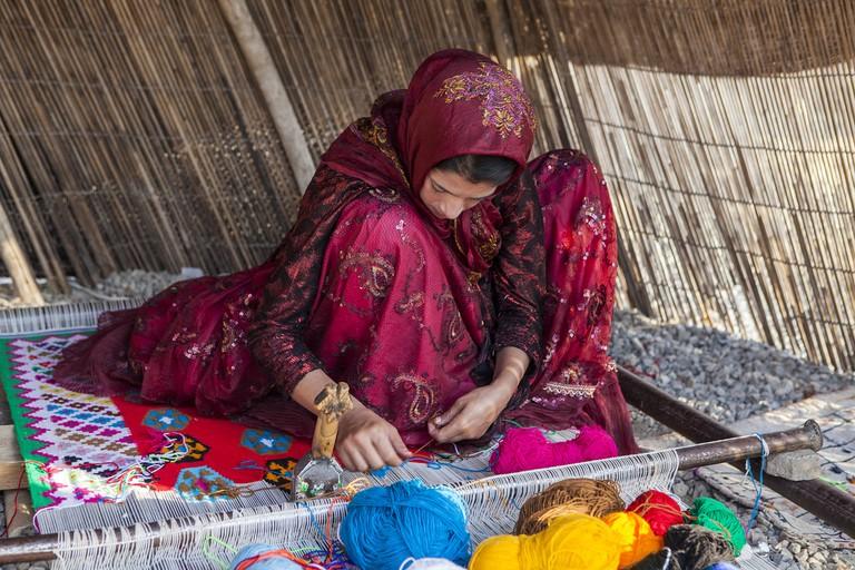Carpet weaving is a tradition of the Qashqai   © Ninara / Flickr