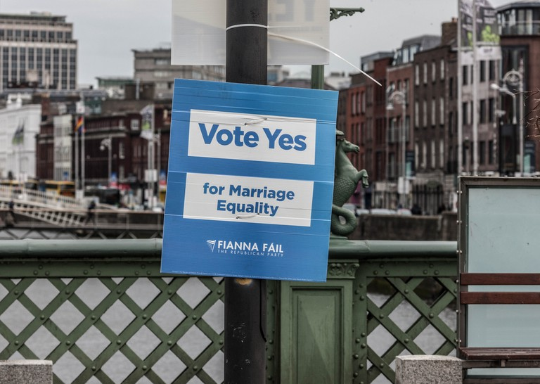 Poster Campaign For The Thirty-fourth Amendment of the Constitution (Marriage Equality) Bill 2015, Ireland   © William Murphy/Flickr