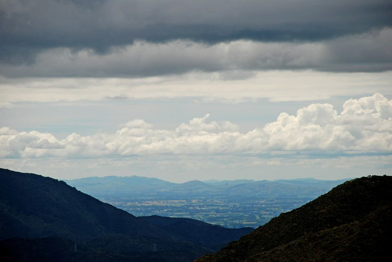 Wairarapa From the Rimutaka Summit