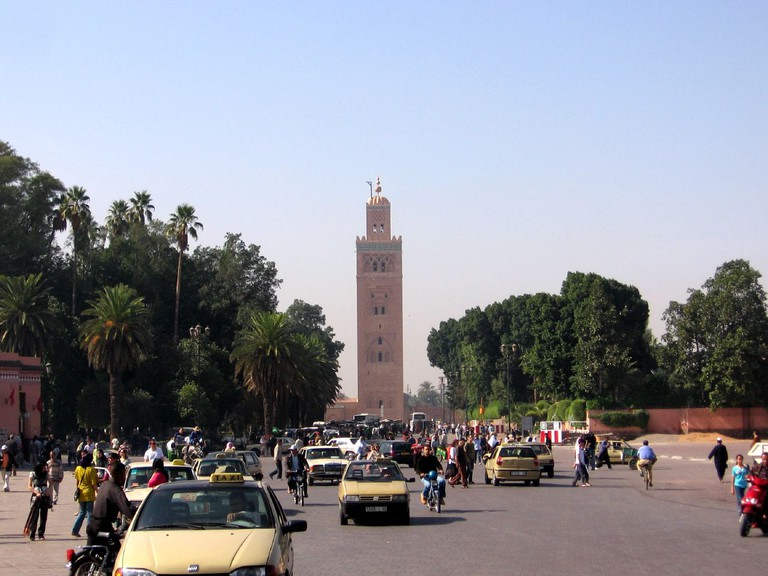 The Koutoubia Mosque is the largest mosque in Marrakech