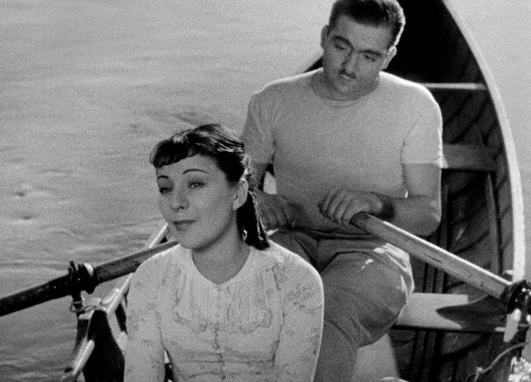 Sylvia Bataille and Georges D'Arnoux in 'A Day in the Country'