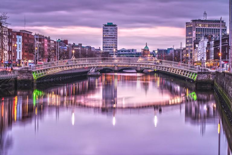 Ha'penny Bridge, Dublin | © Crash Test Mike/Flickr