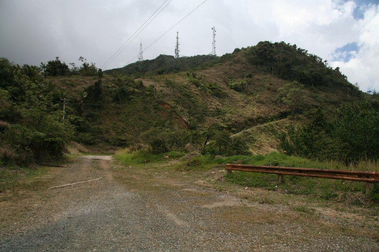 Part of the road to Cerro Punta