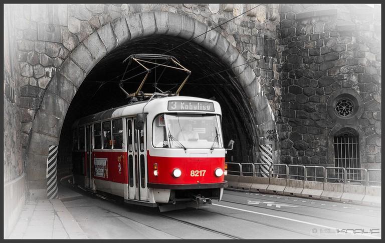 Public transportation in Prague