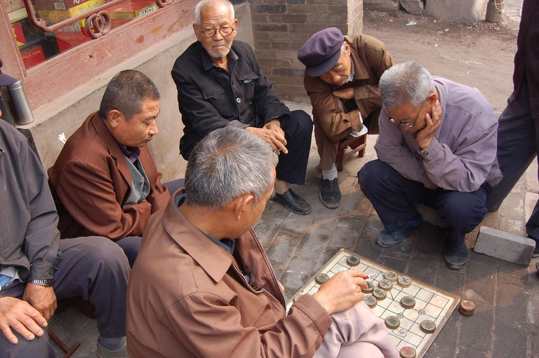Chinese Chess in Pingyao