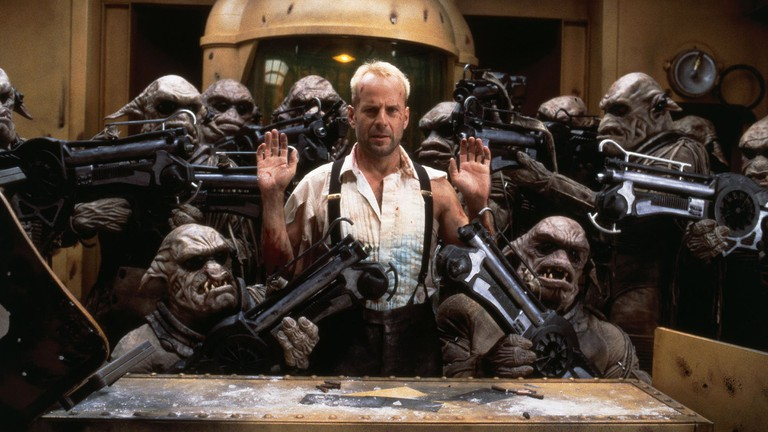 Bruce Willis and friends in 'The Fifth Element' | © Gaumont/BVI