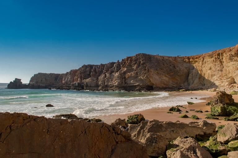 Praia do Tonel at Sagres © dronepicr