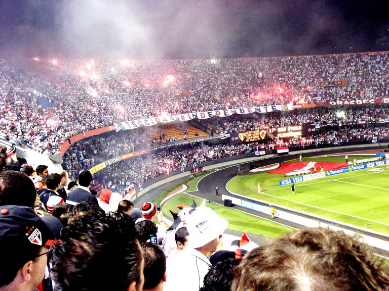 São Paulo supporters, Morumbi
