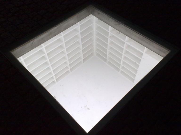 The memorial for burned books