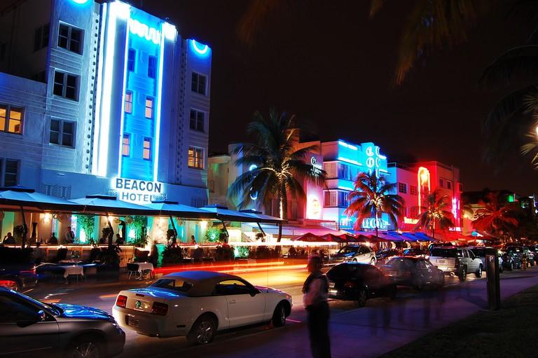 Vibrant Miami Nightlife