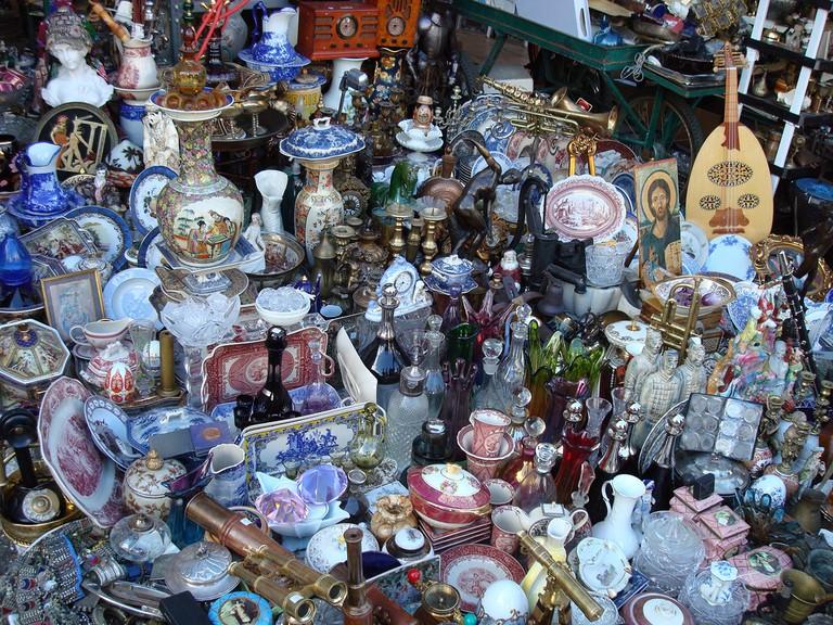 Athenian flea market │