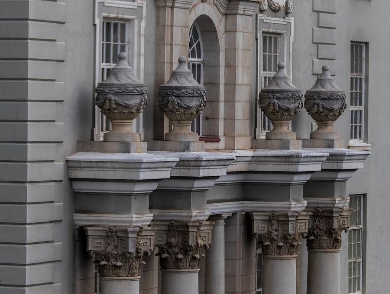 Detail – Groote Schuur Hospital