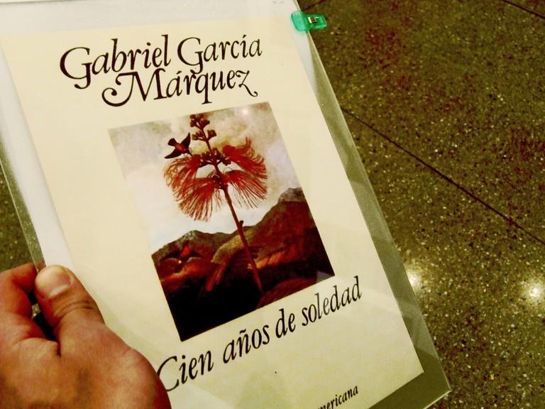 Pick up your own copy of a Gabriel García Márquez novel at Abaco
