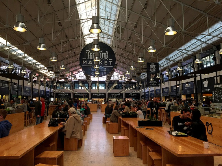 Mercado da Ribeira's Time Out Market