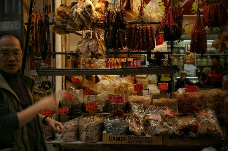 Dried seafood in Hong Kong