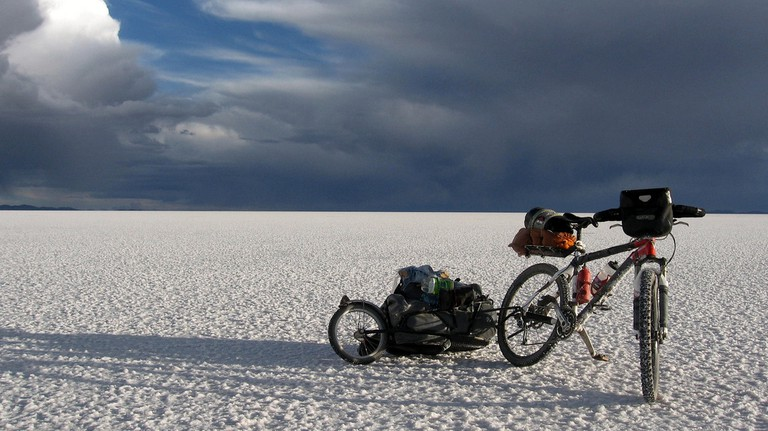 Cycling the Salar