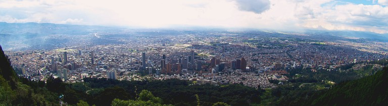 View of Bogota from the Monserrate