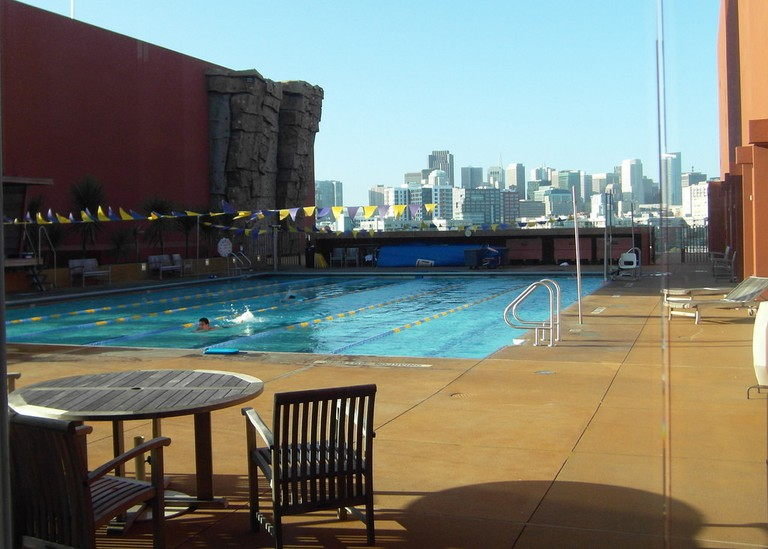 UCSF Mission Bay Rooftop Pool
