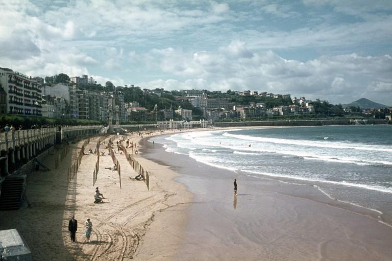 La Concha beach © foundin_a_attic
