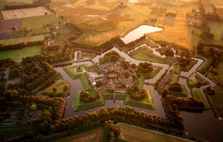 Fort Bourtange from the air