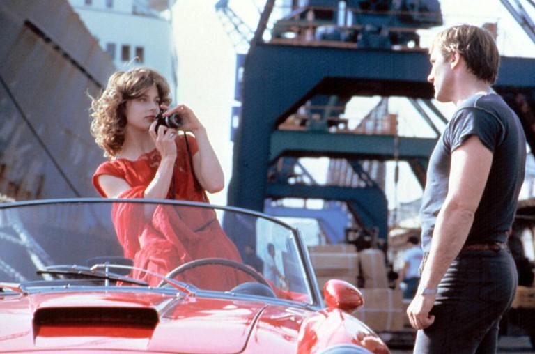 Nastassja Kinski and Gérard Depardieu in 'The Moon in the Gutter'