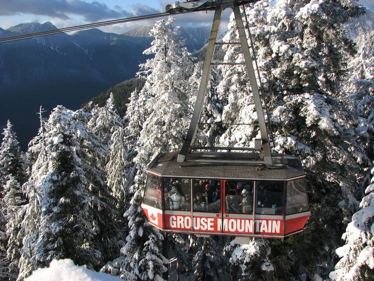 Visiting Grouse Mountain