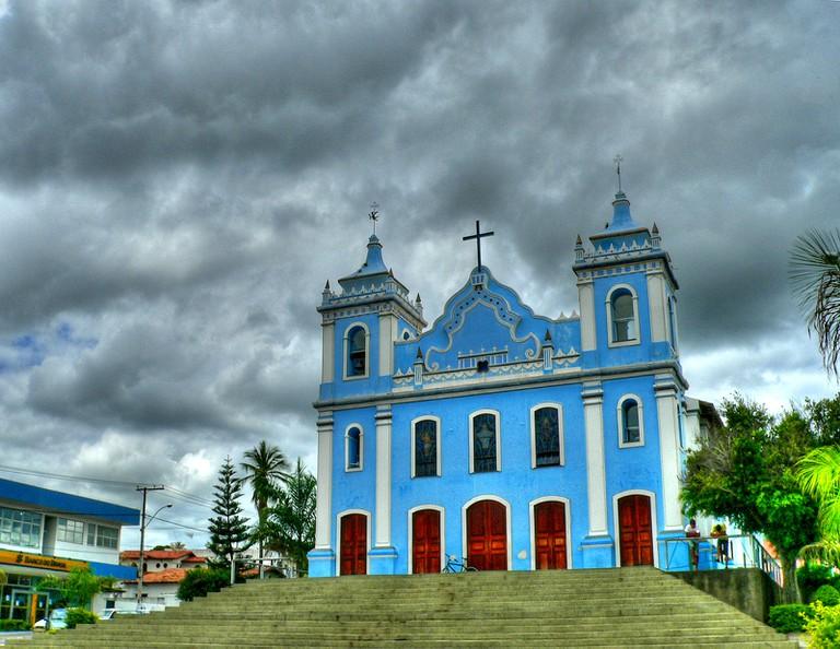 Blue in Brumado, Brazil