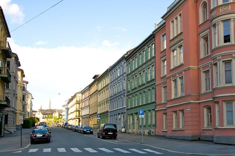Eckersbergs gate, Frogner