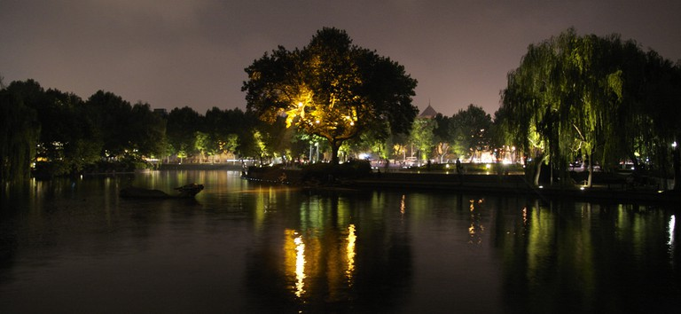 West Lake by night I