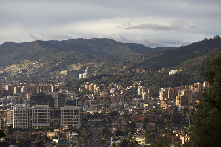 View from the Eastern Hills outside Bogotá I