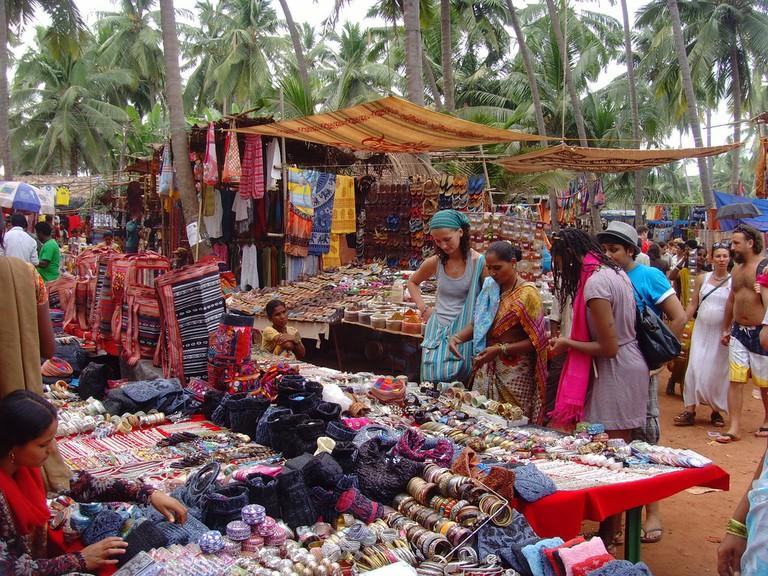 Anjuna Market | © Klaus Nahr/Flickr