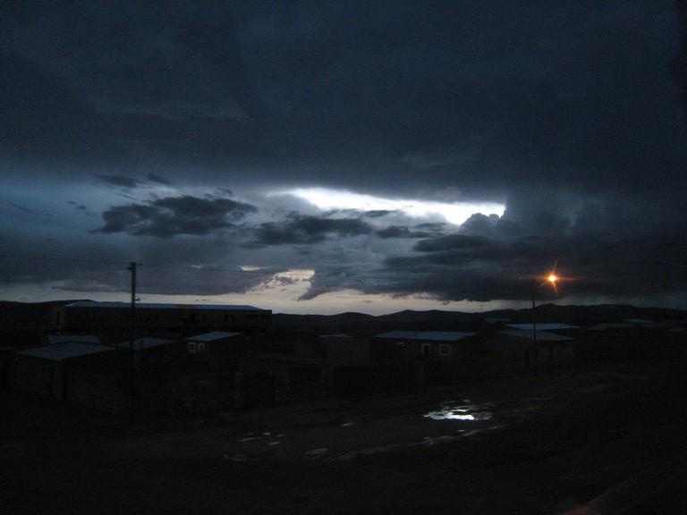 Altiplano at night
