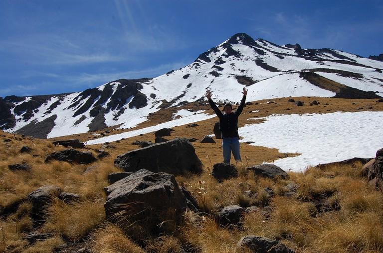 Get adventurous by climbing the Nevado de Toluca